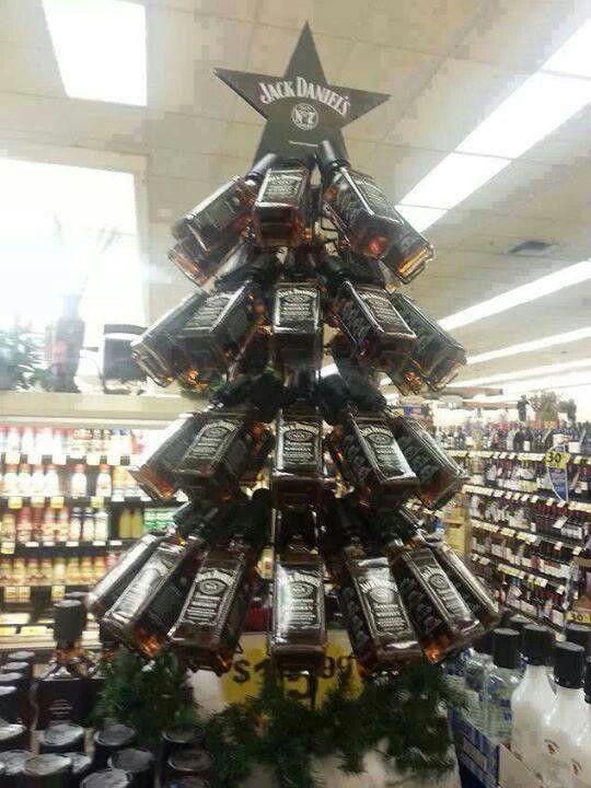 Weihnachtsbaum jack daniels