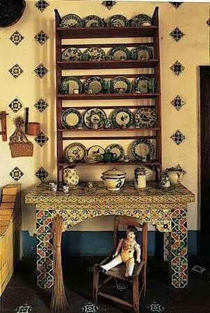 Cocina t pica mexicana tejaban cocinas mexicanas for Decoracion de casas tipo hacienda