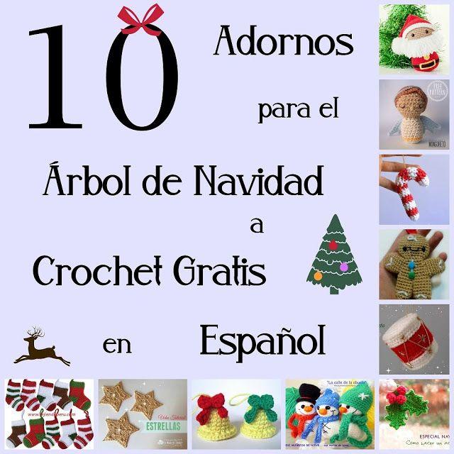 adornos navidad crochet | navidad | Pinterest | Adornos navidad ...