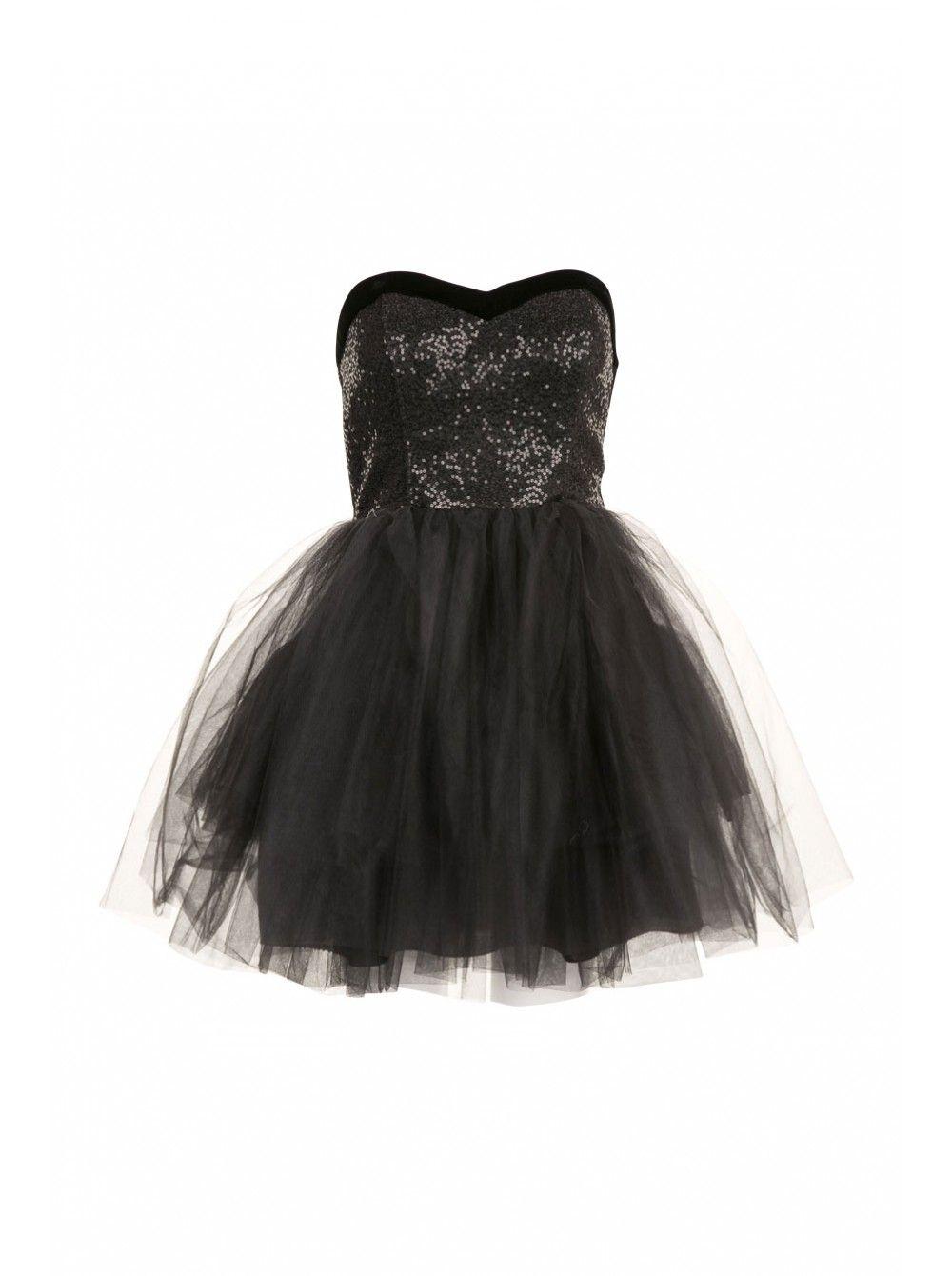 Dresses Robe Bustier NafÀ Tutu Femme Acheter Robes Noir T3F51culJK