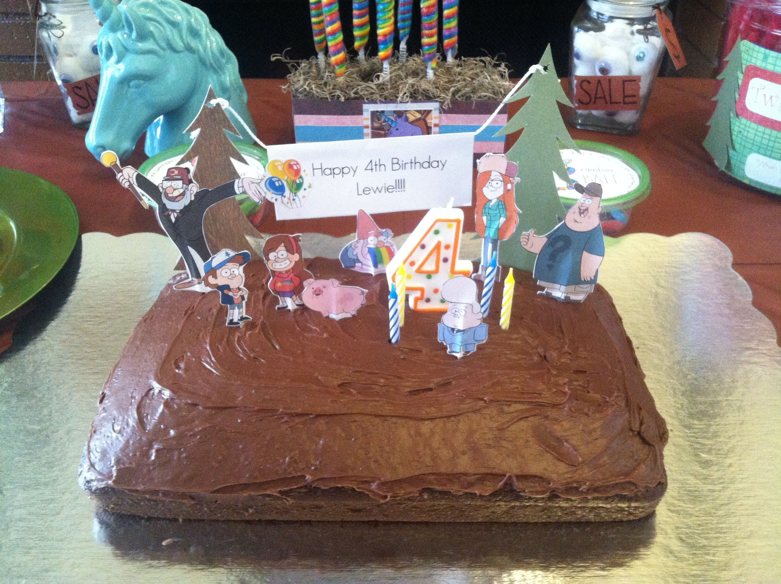 Scrapbook ideas cheap - Super Easy And Cheap Cake Baked Cake Ourself