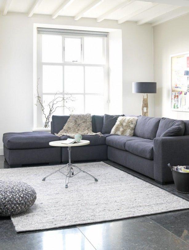 mooie hoek bank Door L4A | My Lovely Home | Pinterest | Living rooms ...