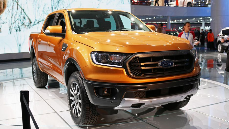 All The New Cars At The 2018 Detroit Auto Show Ford Ranger 2019