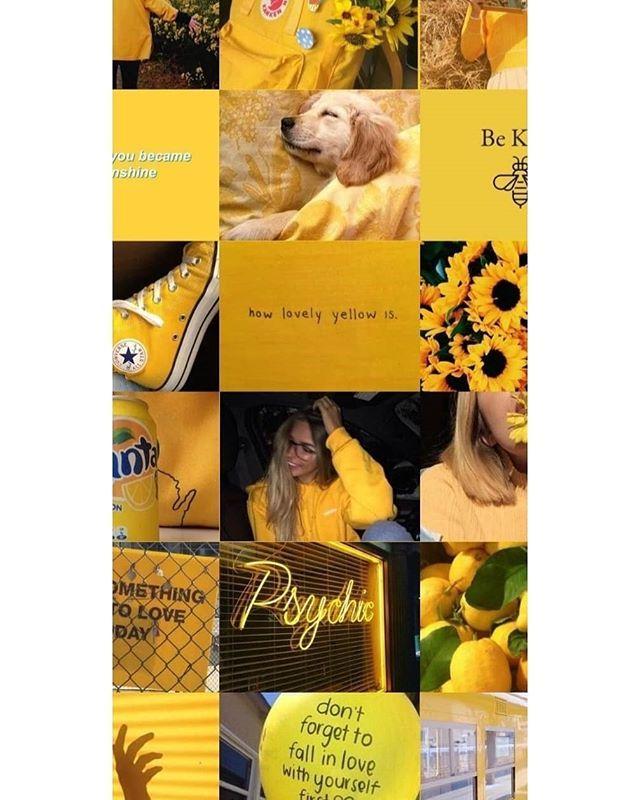 خلفيـآات On Instagram ل م حبـين الأصفـر صورة صور خلفيات خلفية خلفيات سوداء خلفية جوالك افتار Yellow Aesthetic Pastel Aesthetic Collage Pastel Aesthetic