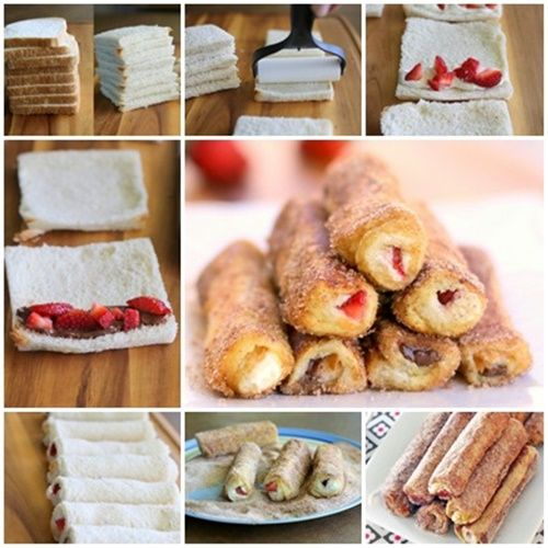Wonderful diy french toast roll ups gourmet easy and recipes wonderful diy french toast roll ups solutioingenieria Choice Image