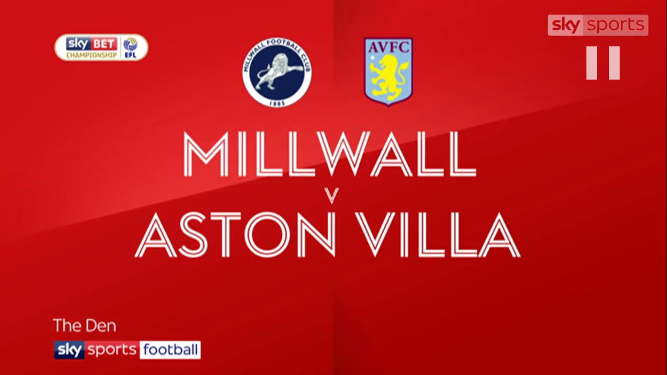 Millwall vs Aston Villa 300pm Saturday 6th October