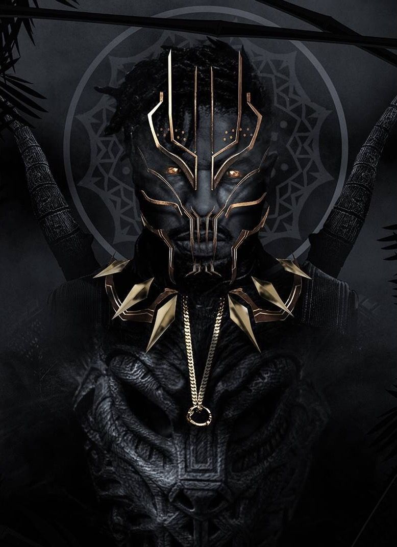 Erick Killmonger By Bosslogic Black Panther Art Black Panther Marvel Black Comics