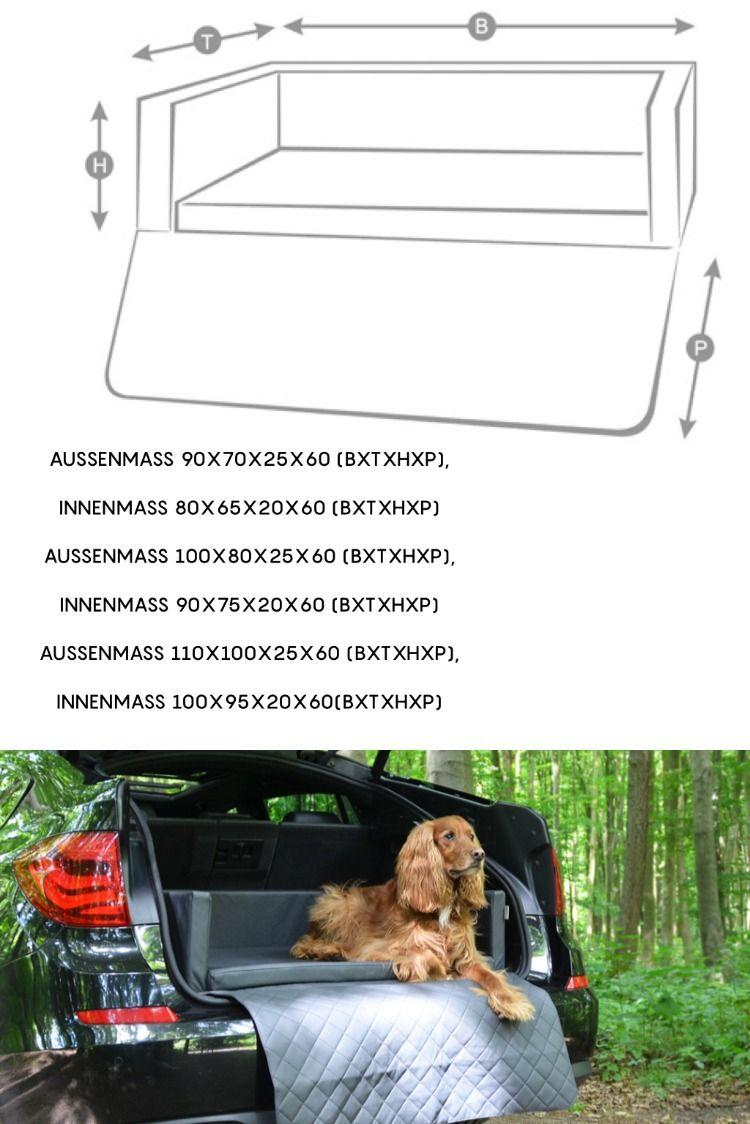 Das Hunde Auto Reisebett Travelmat Von Entwickelt Fur Den Hund