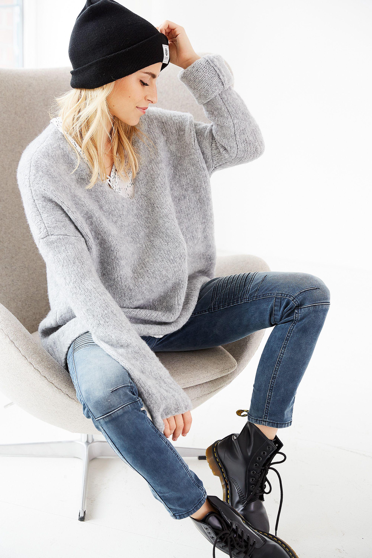 casual winter outfit von aboutyoude idol carodaur mit. Black Bedroom Furniture Sets. Home Design Ideas