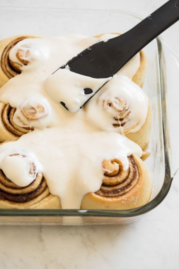 Vegan Cinnamon Rolls With Make Ahead Option Recipe Vegan Cinnamon Rolls Vegan Cream Cheese Frosting Food
