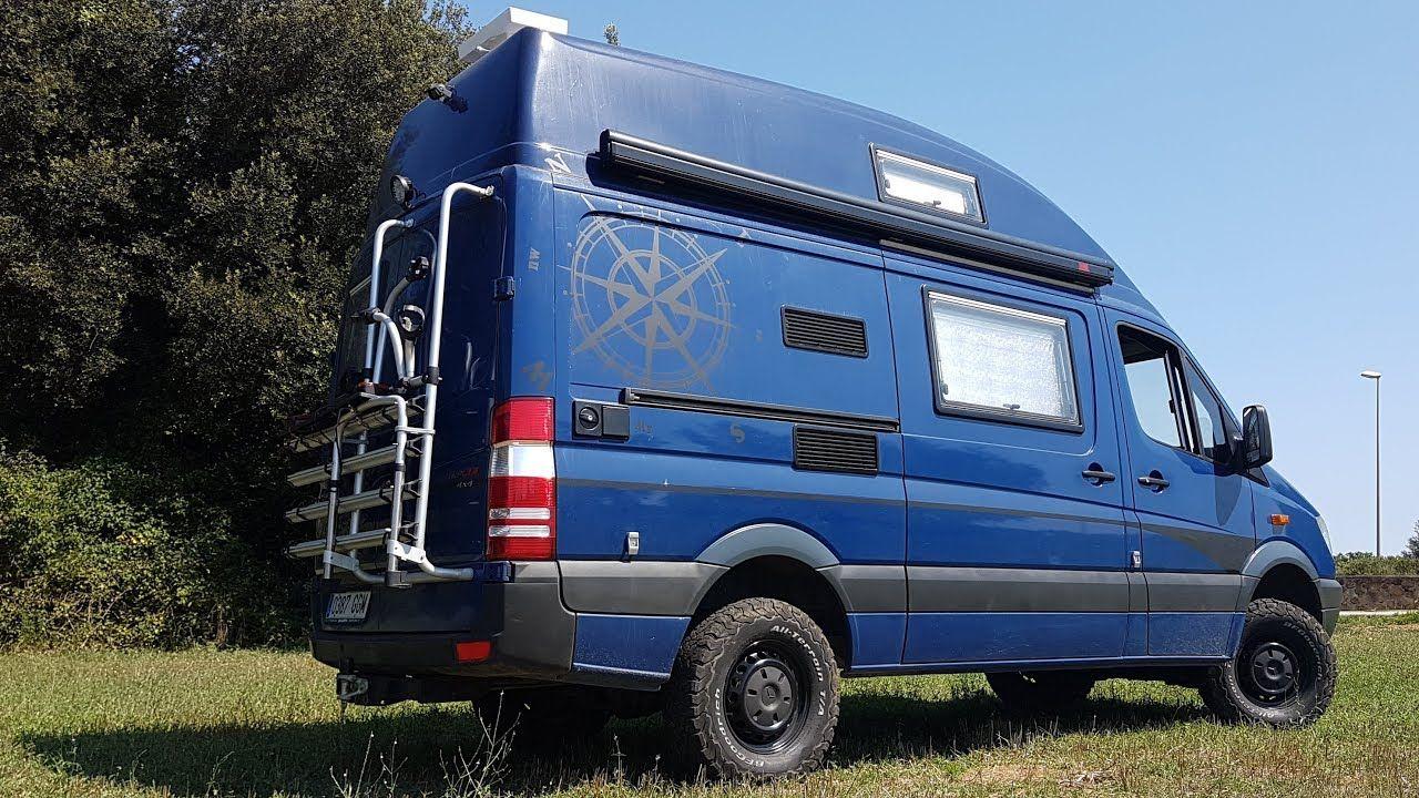 04 Mercedes Sprinter 4x4 Van Conversion Camper Final Result