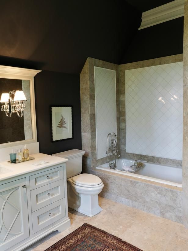Traditional Bathrooms from Fernandez and True Interiors on HGTV