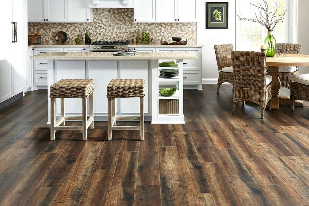 Floor And Tile Decor Woodbridge Coco Waterresistant Laminate  Water Floor Decor And Laminate