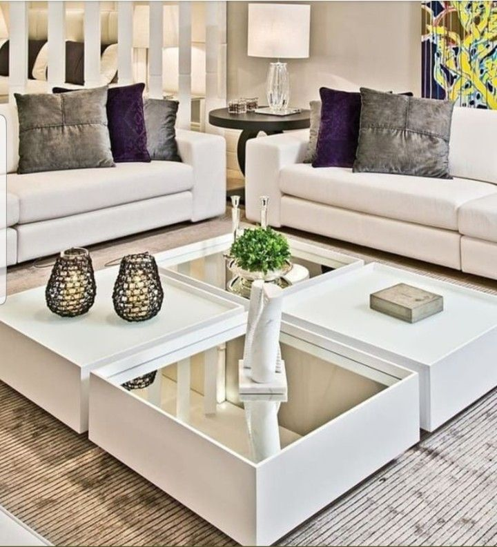 Pin by Thato Letsaba on Houzz | Center table living room ...
