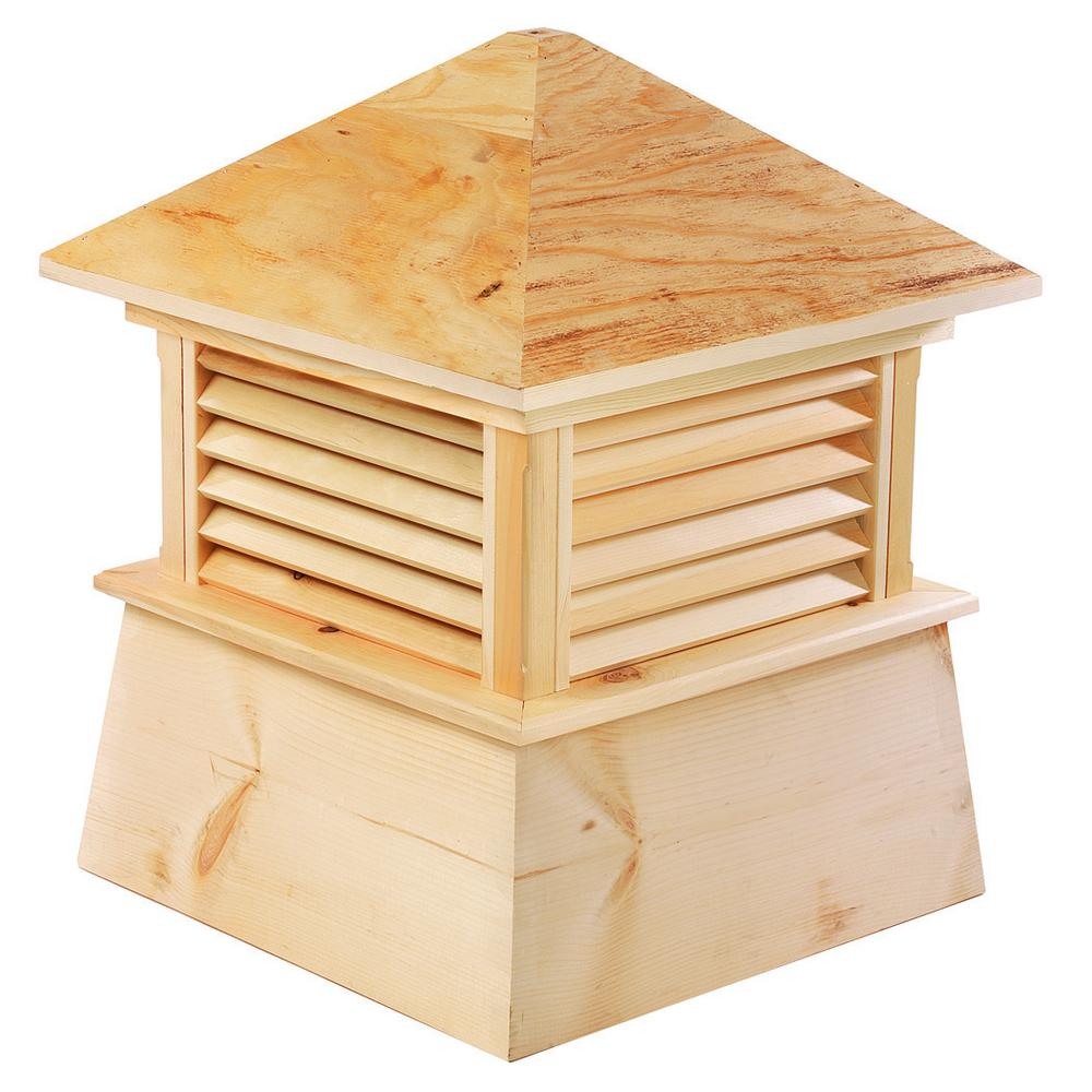 Good Directions Kent 42 In X 54 In Wood Cupola Wood Roof Cypress Wood Cupolas