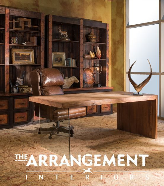 The Arrangement Distinctive Interiors ' designs combine high-style luxury with a rustic aesthetic. #luxeDallas