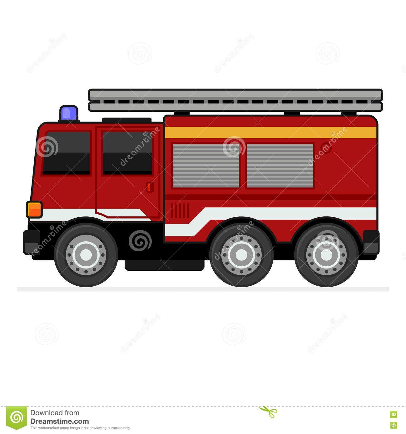 пожарная-машина-на-спешке-51371774.jpg (1300×1390)