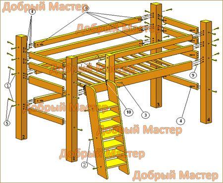 инструкция по сборке кровати спейс - фото 4