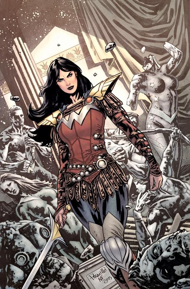 Titans Hunt #3 - Donna Troy by Yanick Paquette *