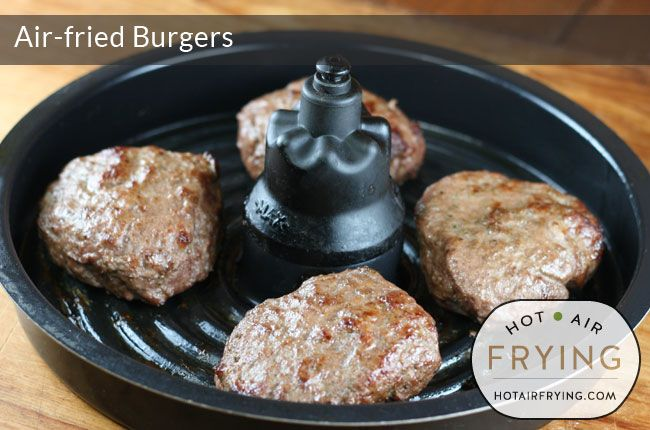 How To Cook Hamburgers In Airfryer Xl