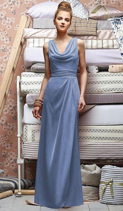0c319844f3b Lela Rose LX154 Cowl Neck Bridesmaid Dress