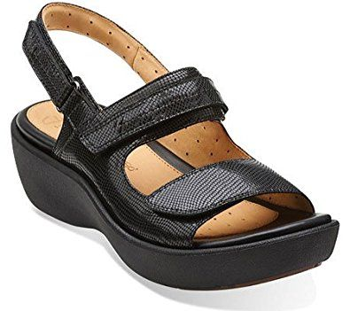 11adc0d72f71 Harvest Black Leather - Wide Shoes for Women - Clarks® Shoes - Clarks