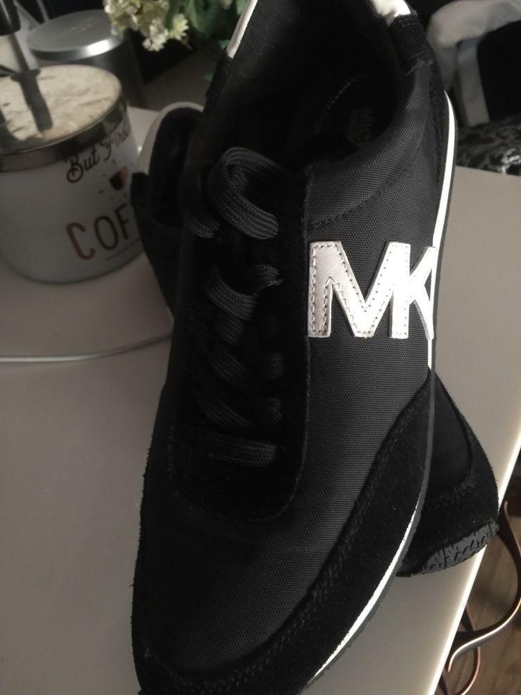 f11a6a7b900ce Michael Kors MK Women's Allie Sneakers Shoes Black #fashion ...