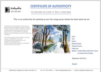 Certificate Of Authenticity Painting  Google Search  Tenons