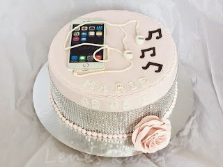Lenes Kakeverden: Kake med Iphone
