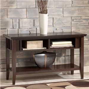Remarkable Logan Contemporary Sofa Table Tv Console By Signature Gmtry Best Dining Table And Chair Ideas Images Gmtryco