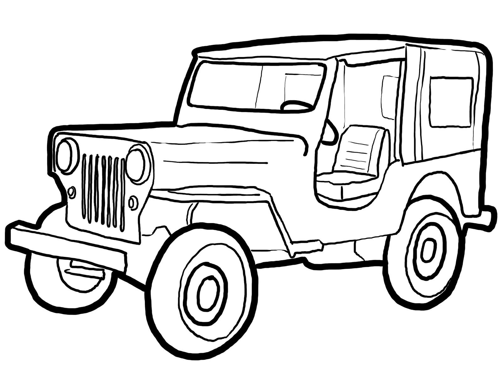 Glade ICT: 20+ New For Drawing Jeep Wrangler Side View
