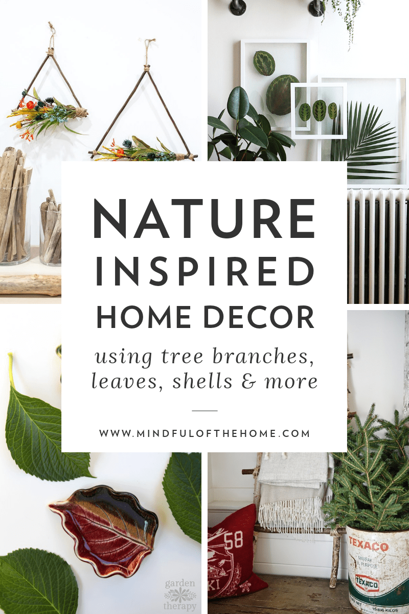 32 DIY Natural Home Decor Ideas that are Cheap and Easy   Earthy ...