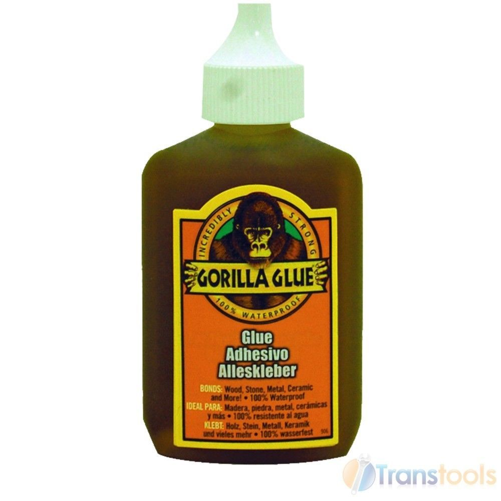 Gorilla glue for use with wood stone metal ceramic 60ml