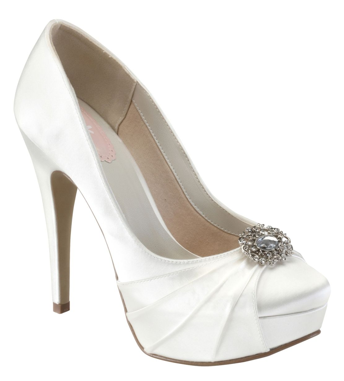 Paradox Pink Caramel Dyeable Wedding Shoes From Elegant Steps 79 95 Dyeable Wedding Shoes Satin Shoes Bridal Shoes