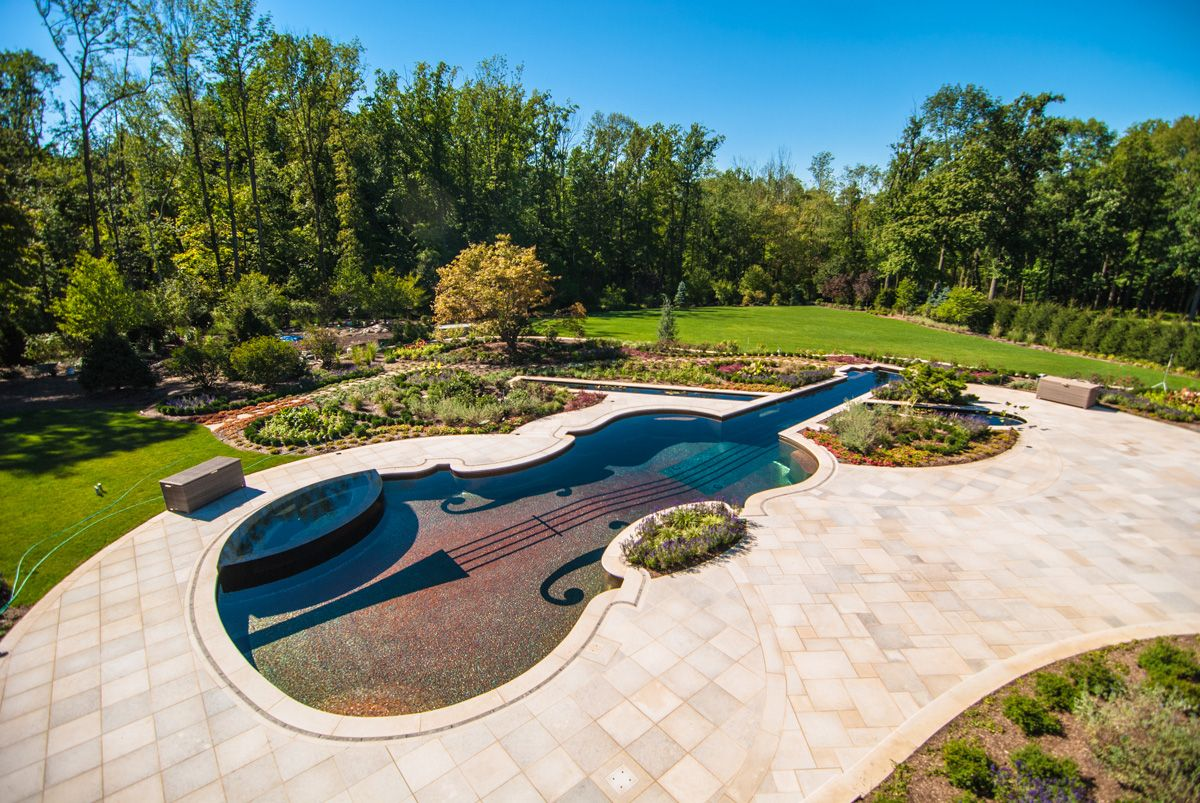 Natural Pool Swimming Garden Design | ... landscape-design-with ...