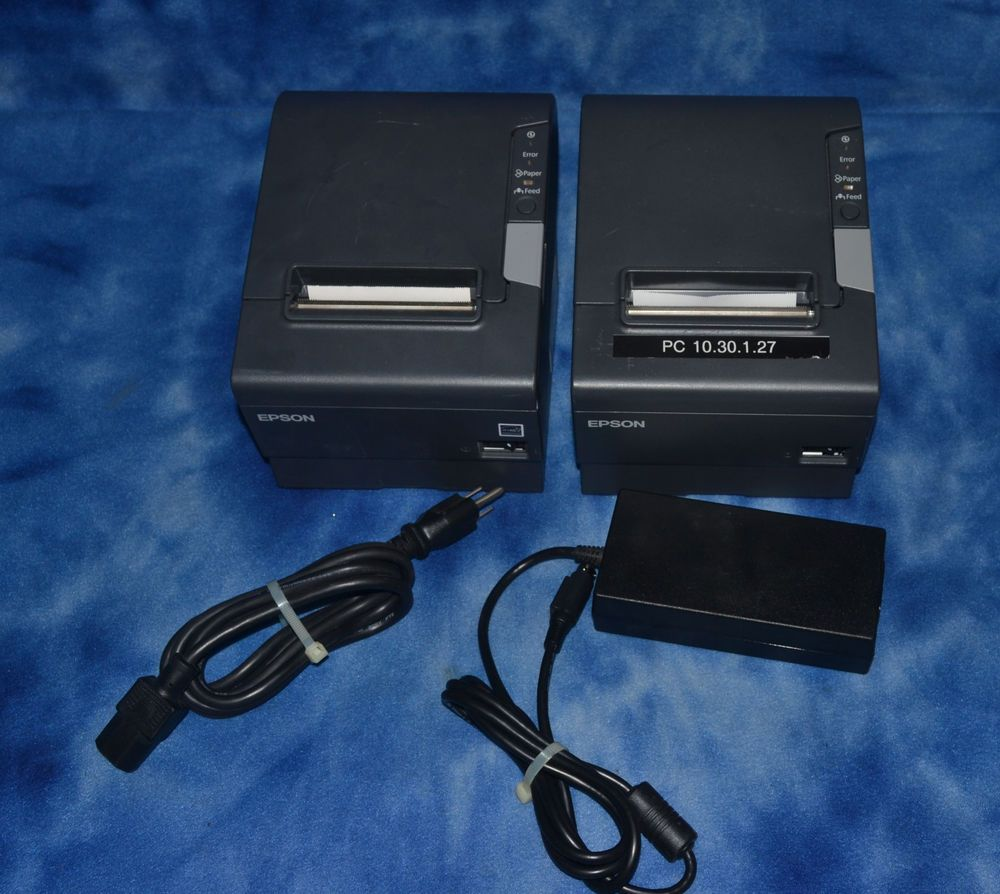 Epson Tm T88v M244a Pos Thermal Receipt Printer No Ac Adapter Or Cables Included Ebay Epson Printer Pos