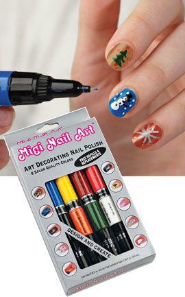 Migi Nail Art Salon Nail Art Kit Solutions Fun Nails
