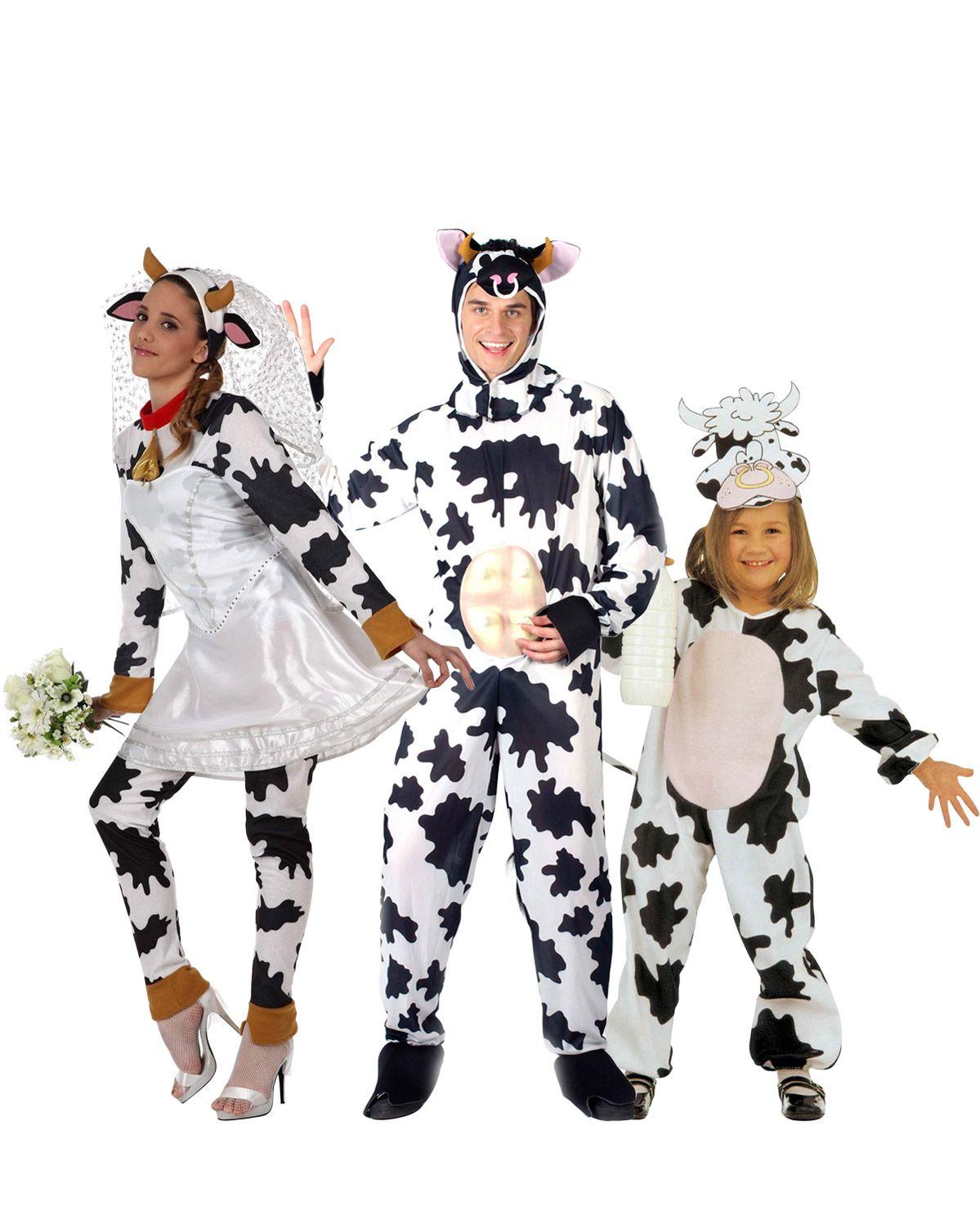 d guisement de famille vache d guisement vache mari e. Black Bedroom Furniture Sets. Home Design Ideas