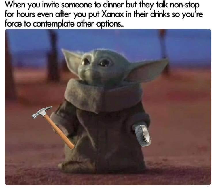 Baby Yoda Yoda Meme Star Wars Memes Funny Images