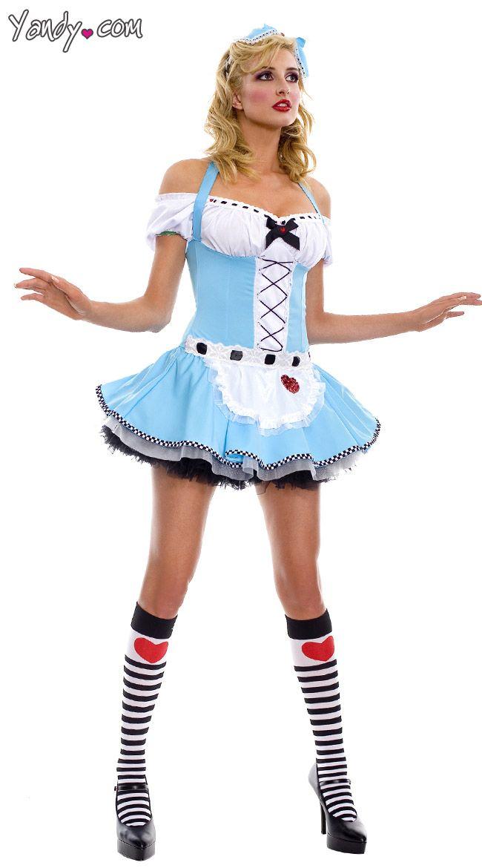 Adult Alice In Wonderland Costume, Sexy Alice Costume -5418