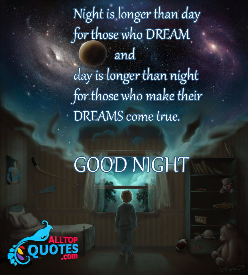 Cool Good Night Quotes With Images English Philosophy Good Night