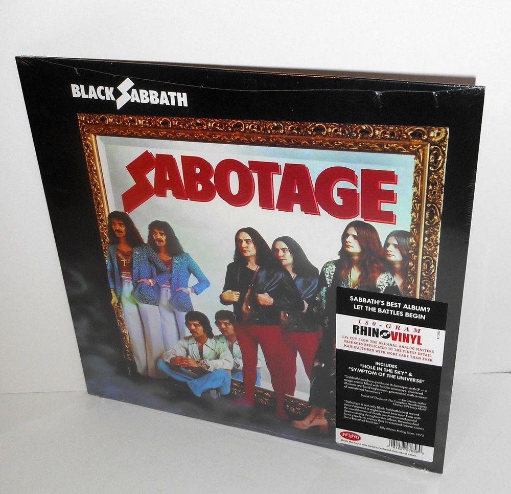 Black Sabbath Sabotage Lp Sealed 180 Gram Vinyl Record Ozzy Osbourne Hardrockpsychedelicrock Black Sabbath Ozzy Osbourne Vinyl