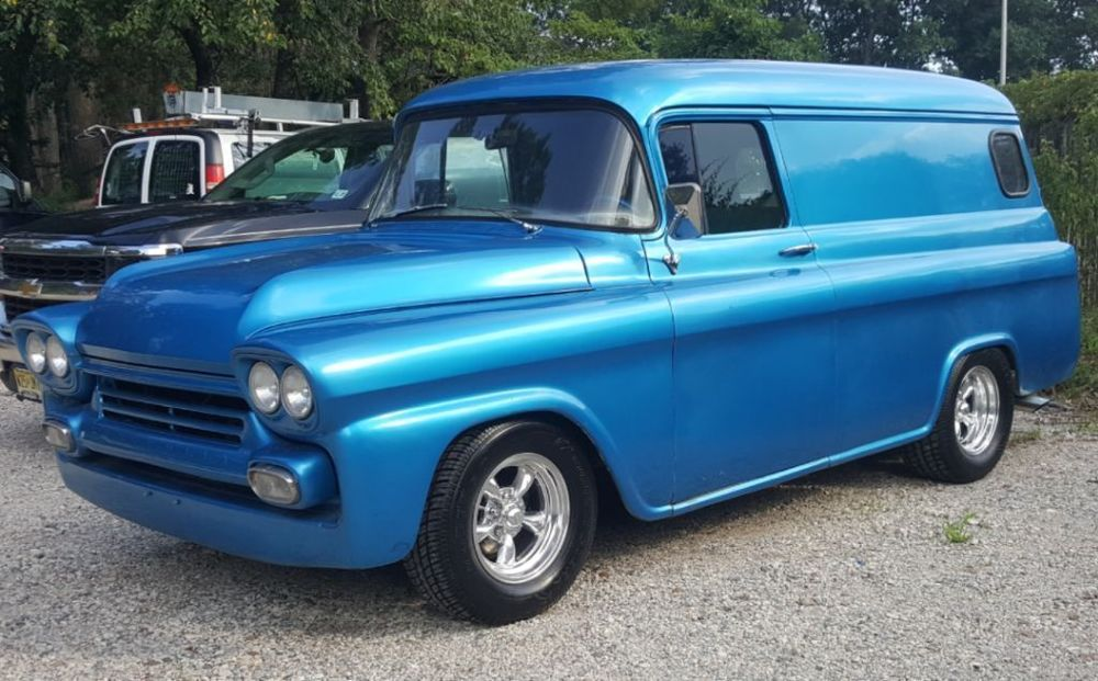 1959 Chevrolet Other 1959 Chevy Panel Truck Street Rod Panel