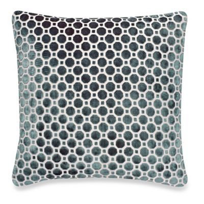 Home Decor Club Lattice Throw Pillow