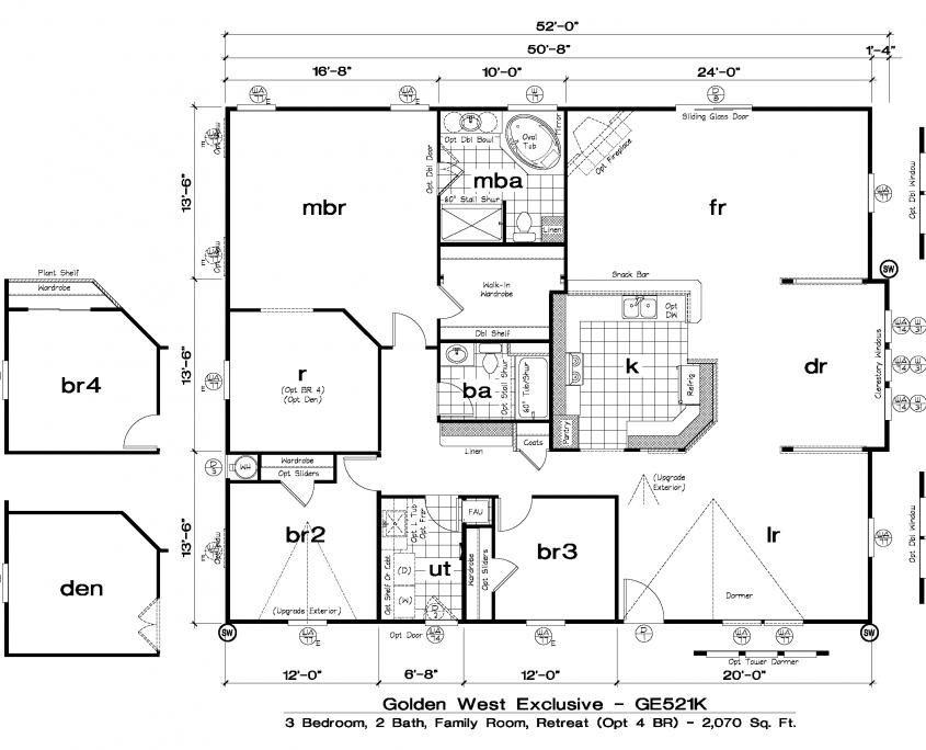GE521K Floor plans, How to plan, Modular homes