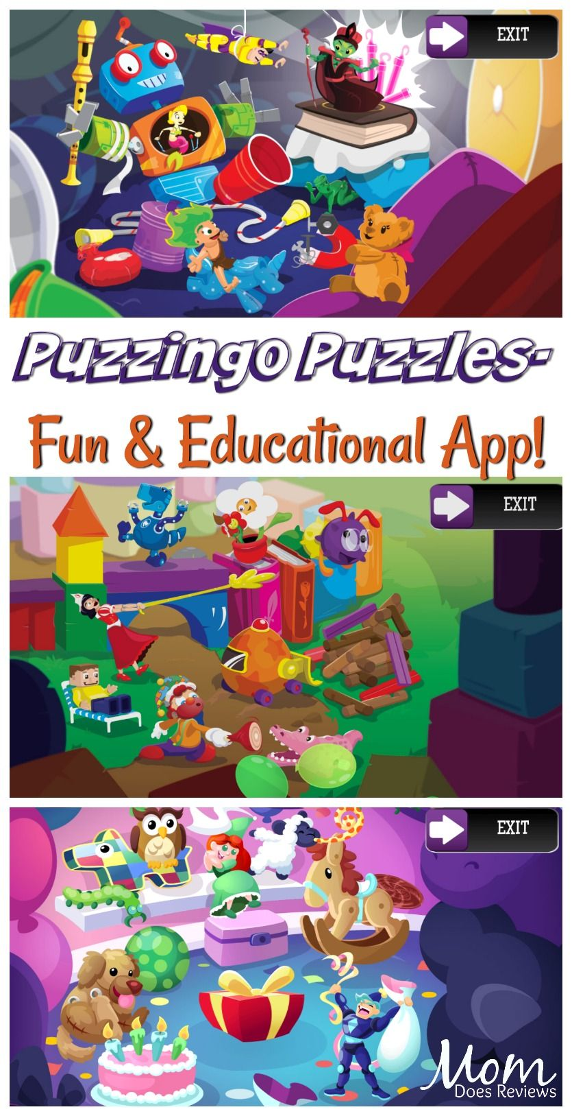 286e20c45 Puzzingo Puzzles- a Fun, Engaging and Educational App! #app #fun #puzzles # educational #learning