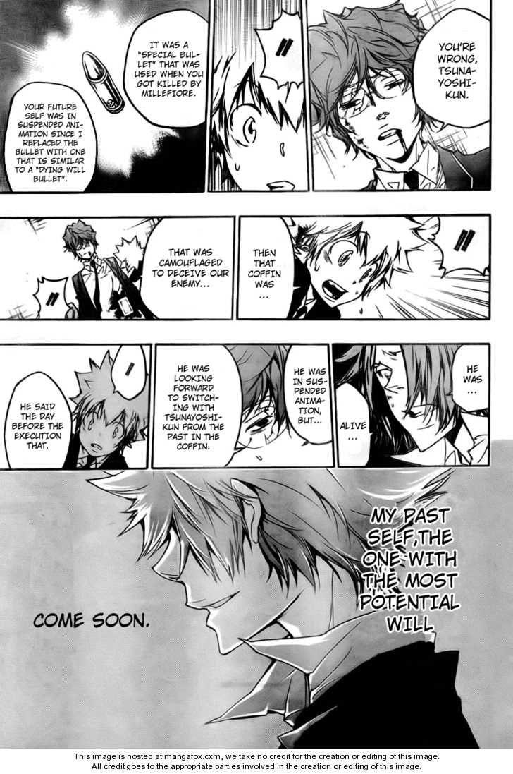 katekyo hitman reborn manga panels