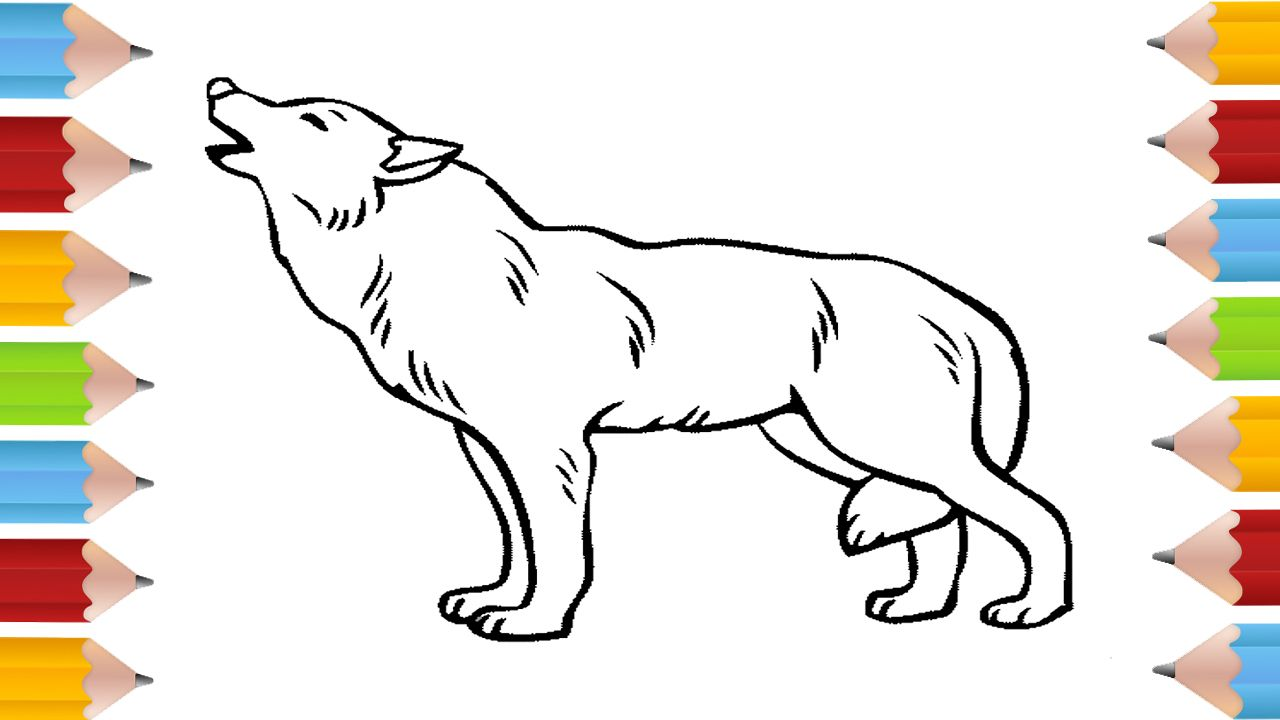 Wolf Coloring Page Wolf And Lycan With Ogre Coloring Pages How To Draw Wolf Wolf Colors Animal Coloring Pages Coloring Pages
