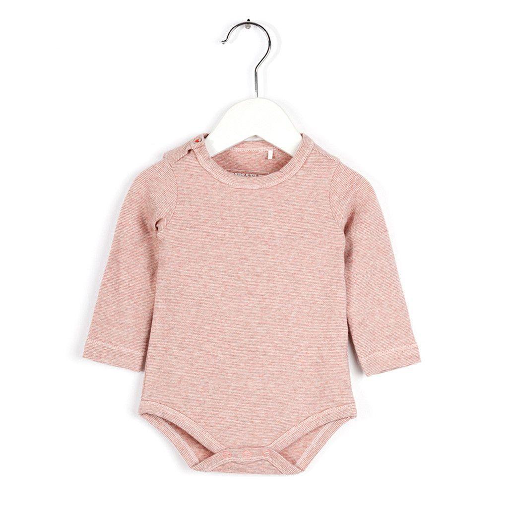 Long Sleeve Body- Pretty Pink