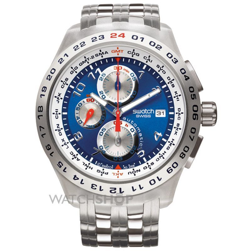 swatch men s blunge automatic chronograph watch watches swatch swatch men s blunge automatic chronograph watch